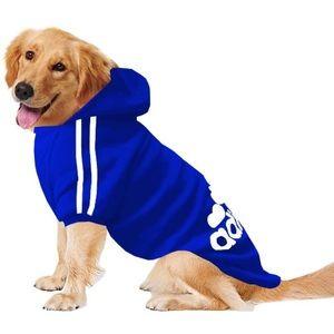 ADIDOG Blue Cotton fleece Tracksuit for dog 5 XL